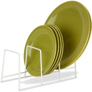 $2.00 Honey-Can-Do Coated Steel Wire Plate Rack