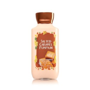 Salted Caramel Pumpkin Body Lotion - Signature Collection - Bath & Body Works