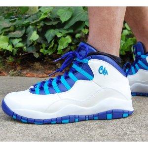 Men's Air Jordan Retro 10 NYC Basketball Shoes