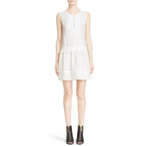 Burberry白色连衣裙