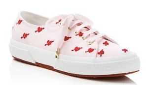 Superga Jennifer Meyer Collection Linembrw Palm Tree Lace Up