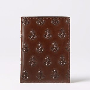 Embossed Anchor Passport Sleeve - JackSpade