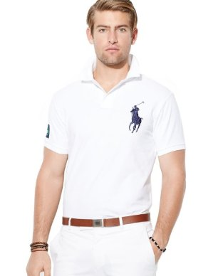 Up to 65% Off + Extra 30% Off SLIM-FIT BIG PONY POLO SHIRT @ Ralph Lauren