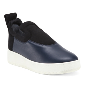 Made In Italy Leather Sneakers - Made In Italy - T.J.Maxx