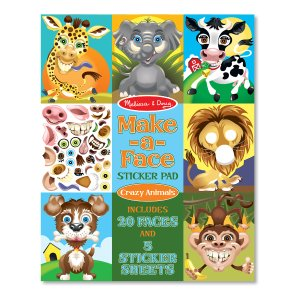 Melissa & Doug Make-a-Face Sticker Pad - Crazy Animals | zulily
