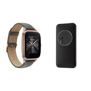 $364.00 + $50GC ASUS Black ZenFone Zoom ZX551ML 64GB Smartphone Kit with Rose Gold ZenWatch 2