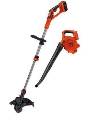 $119.99 BLACK+DECKER LCC140 40V MAX* Lithium Ion String Trimmer and Sweeper Combo Kit