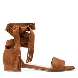 New Ankle-Wrap Sandalthe Corbata @ Stuart Weitzman