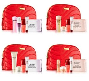 Free 6-piece Gift Set+Up to $40 Macys Money with purchase of any two Qualifying Shiseido Skincare Products