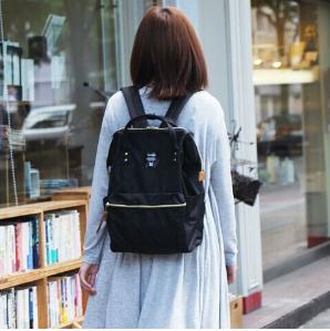 $35.99 MOLLYGAN Preppy Chic Student's Nylon Schoolbag Satchel Backpack Totes