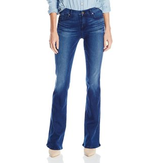 $35.40( reg.$178 ) 7 For All Mankind Women's Kimmie Bootcut Slim Illusion Luxe Jean in Heritage