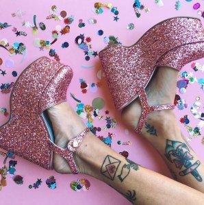 As Low As $155 Chiiara Ferragni 'Donna' Platform Sandals Sale @ Farfetch