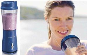 $14.51(reg.$25.07) Hamilton Beach 51132 Single-Serve Blender with Travel Lid