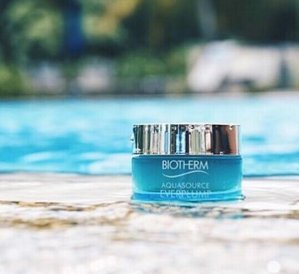 Enjoy 50% OFF Aquasource Total Eye Revitalizer with the purchase of any Aquasource moisturizer  @ Biotherm