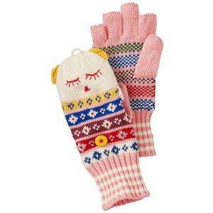 Kids Convertible Critter Mittens | Sale Girls Accessories