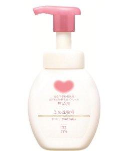 $10.60 Cow Brand Gyunyu Non Additive Foaming Facial Cleanser 6.8oz/200ml