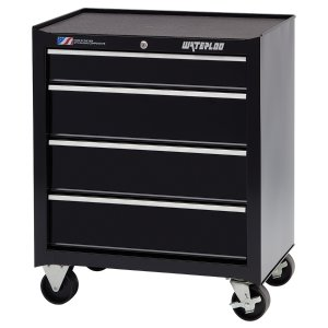 Waterloo Drawer Ball-Bearing Steel Tool Cabinet (Black)