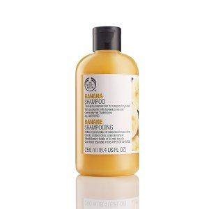 Shampoo - Paraben-Free Banana Hair Care | The Body Shop ®