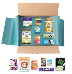 $14.99 New Year New You Sample Box, 14 or more samples ($14.99 credit on select Nutrition & Wellness items with purchase)