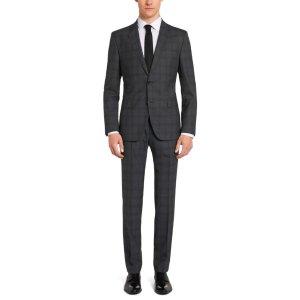 'Johnstons/Lenon'   Regular Fit, Super 100 Virgin Wool Suit