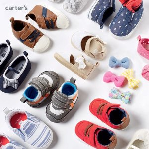 50% Off+Extra 25% Off The Kids' Shoes @ Carter's