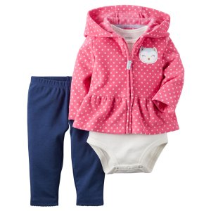 Baby Girl 3-Piece Little Jacket Set | Carters.com