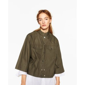 BELLED SLEEVE SHIRT - COLLECTION-SALE-WOMAN | ZARA United States