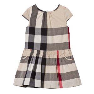 Burberry Beige Classic Check Dress | AlexandAlexa
