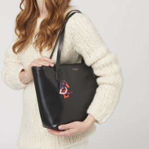 De Beauvoir Large Zip-top Tote Bag > Buy Tote Bags Online at Radley
