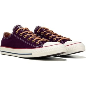 Converse Chuck Taylor All Star Seasonal Low Top Sneaker Black Cherry