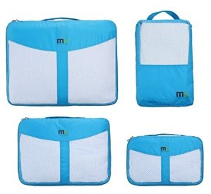 $19.99 MIU COLOR Durable 4 Piece Packing Cubes Set