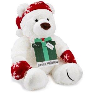 $150 Amazon礼卡+2016限量版Gund泰迪熊