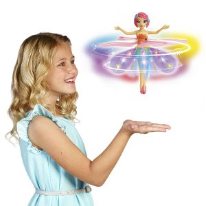 Deluxe Light Up Flutterbye Flying Fairy - Rainbow - Spin Master - Toys