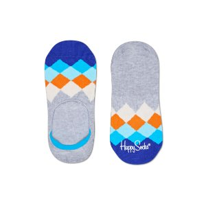 Fancy Liner Socks with Faded Diamonds at Happy Socks the Best Place to Buy Socks Online.