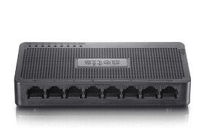 Free! NETIS ST3108S Unmanaged 8 Port Fast Ethernet Desktop Plastic Switch