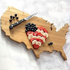 All for $19.98Totally Bamboo State Cutting Board @ Bon-Ton