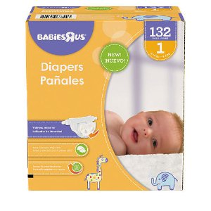 Start! 2016 Black Friday! $11.99 Babies R Us Brand Diapers and Wipes