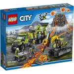 LEGO City Volcano Explorers Volcano Exploration Base 60124