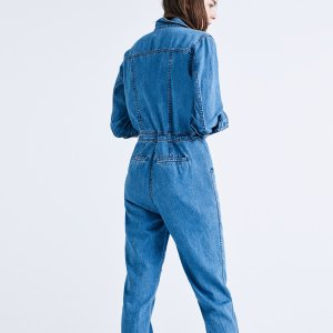 Madewell x Goop� Denim Coverall Jumpsuit : AllProducts | Madewell
