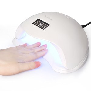 Roleadro 48W UV LED Nail Lamp Gel Polish Nail Dryer Light with Timer
