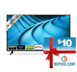 VIZIO Smart Cast 70Inch 4K Ultra HD Home Theater Display+$10 Gift Card