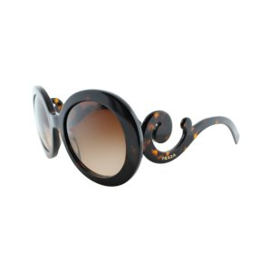 Brown Tortoise Swirl Oversize Sunglasses
