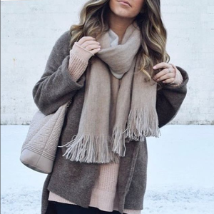 Free People Cozy Oversized Scarf   South Moon Under