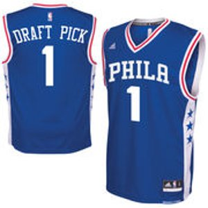 Men's Philadelphia 76ers Ben Simmons adidas Royal 2016 Draft Pick Replica Jersey