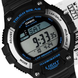 Casio Men's WS220 8AV Illuminator Tough Solar Digital Sport Watch