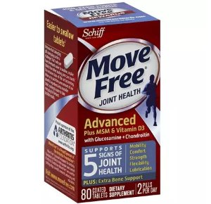 Ending today! Buy 1 Get 1 Free + $10 Off $100 on Schiff Move Free Orders @ Walgreens