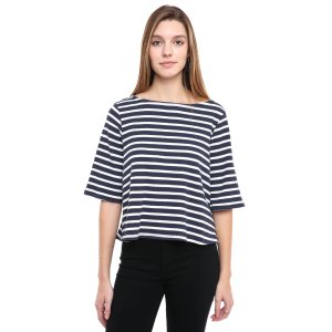 Free People Cannes Striped Tee   South Moon Under