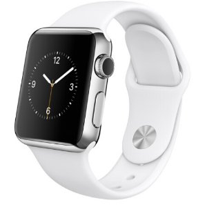 $309.99 Apple Watch 38mm Smartwatch MJ302LL/A (Stainless Steel Case)