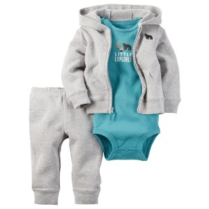 Baby Boy 3-Piece Little Jacket Set | Carters.com