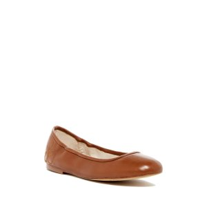 Sam Edelman Fritz Leather Ballet Flat